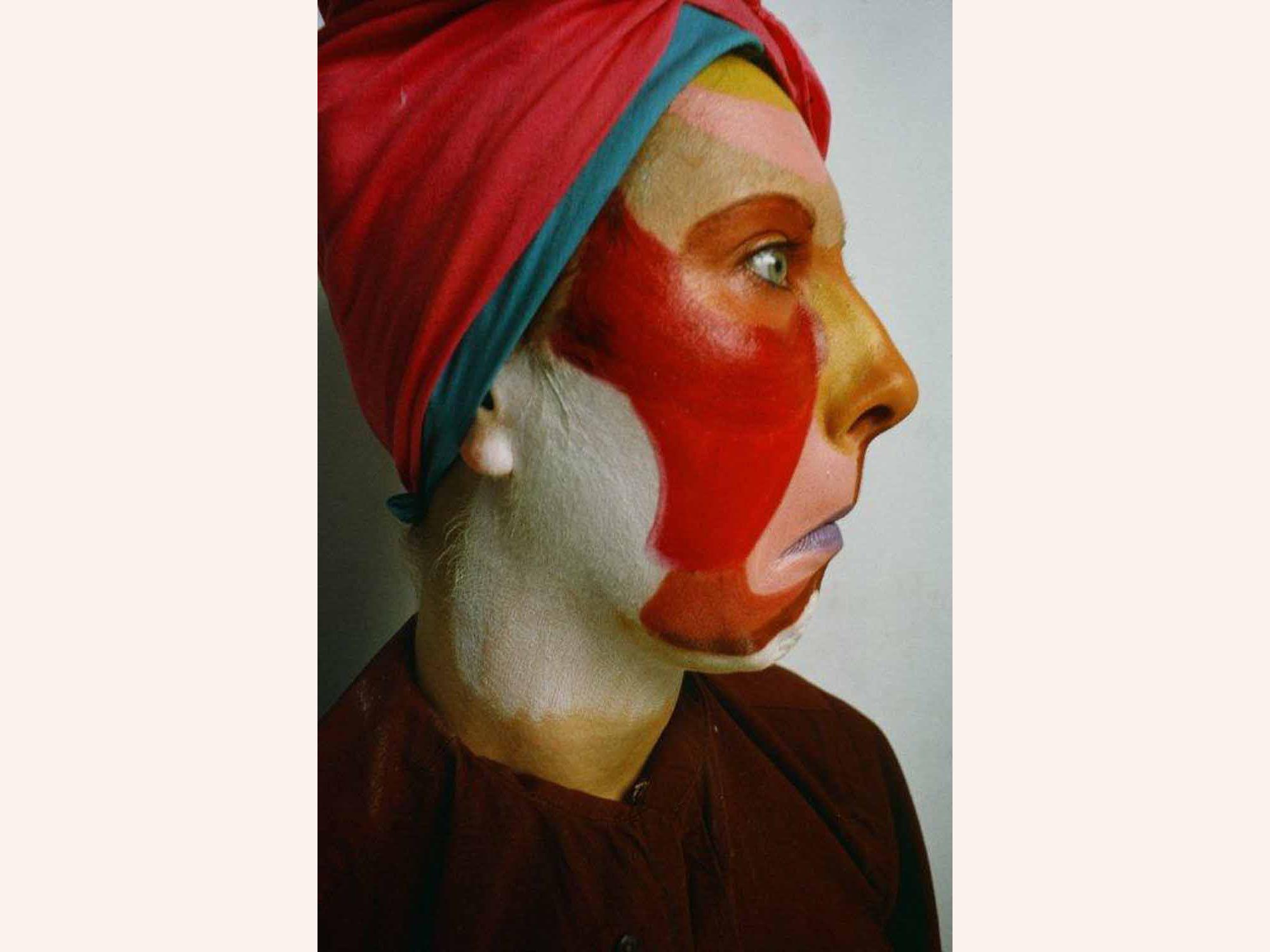 Silvia Ziranek, Projection Works, (1973). House in Barnes, London.